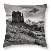 Among The Mittens Throw Pillow