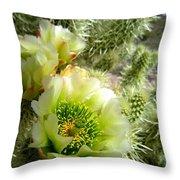 Among The Thorns 3 Throw Pillow
