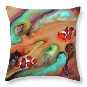Amor Coralineo II Throw Pillow