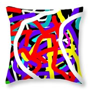 Amor Y Alegria Throw Pillow