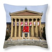 Amore - The Philadelphia Museum Of Art Throw Pillow