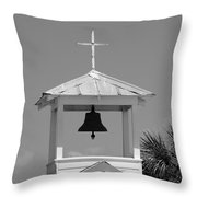 Amory Memorial Chapel Boca Grande Fl Throw Pillow
