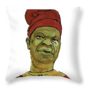 Amos Tutuola Throw Pillow