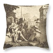 Amphion Throw Pillow