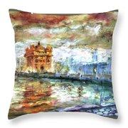 Amritsar Palace Throw Pillow