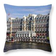 Amstel Amsterdam Hotel Throw Pillow