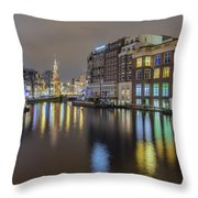 Amsterdam Colors Throw Pillow