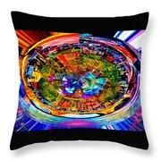 Amsterdam Frisbee Throw Pillow
