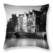 Amsterdam, Keizersgracht Throw Pillow