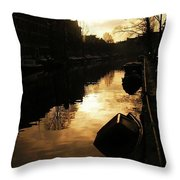 Amsterdam Netherlands Throw Pillow