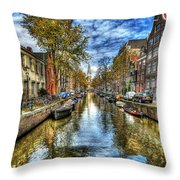 Amsterdam Throw Pillow by Svetlana Sewell
