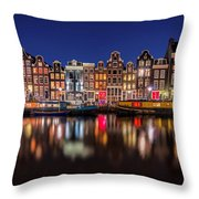 Amsterdamn Throw Pillow
