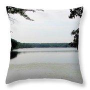 Amston Lake Throw Pillow
