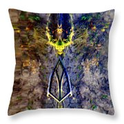 Amulet Throw Pillow