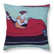 Amusement Art Asbury Park Nj Throw Pillow