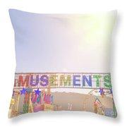 Amusements Throw Pillow