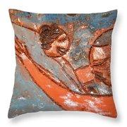 Amuweese - Ile Throw Pillow