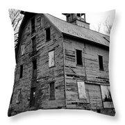 An Abandoned Mill Throw Pillow