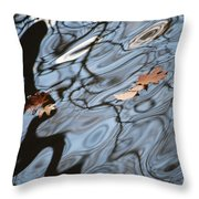 An Abstract Reality II Throw Pillow