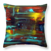 An Abstract Thought Throw Pillow