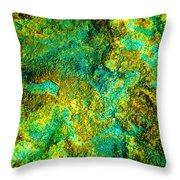 An Abstract World Throw Pillow