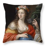 An Allegory Of Intelligence Throw Pillow
