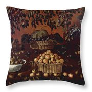 An Allegory Of The Month Of June Throw Pillow
