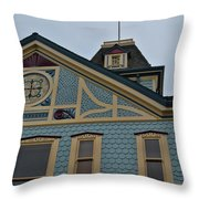 An American Victorian Throw Pillow