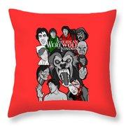 An American Werewolf In London Throw Pillow