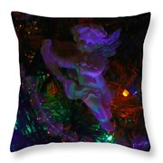 An Angel In My Tree Throw Pillow