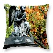 An Angels' Prayer Throw Pillow