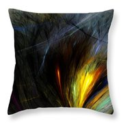 An Angry Moment Throw Pillow