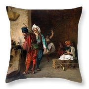 An Arab Archway Throw Pillow