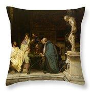 An Art Lover Throw Pillow