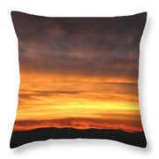 An Astounding Sky Throw Pillow
