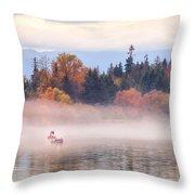 An Autumn Afternoon Throw Pillow