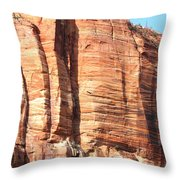 An Eagle Soars Throw Pillow