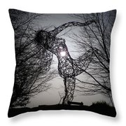 An Eclipse Of The Heart? Throw Pillow