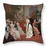 An Elegant Soiree Throw Pillow