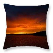 An Evening  In August 2 Throw Pillow
