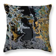 An Evening In The Orient Throw Pillow