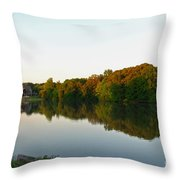 An Excellent Vantage Point Throw Pillow