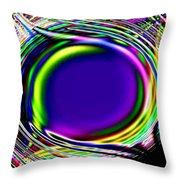 An Eye For Color Throw Pillow