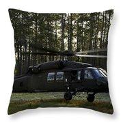 An Hh-60 Pave Hawk Evacuates Injured Throw Pillow