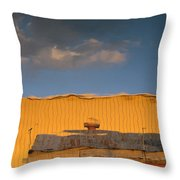 An Illusion Created By A Reflection Throw Pillow