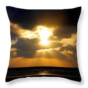 An Inspiring Evening Throw Pillow