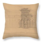An Interesting Romanesque Treatment, San Giovanni, Pistoia Throw Pillow