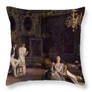 An Interior In Venice Throw Pillow