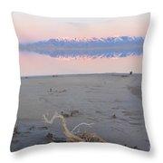 An Island Sunset Throw Pillow