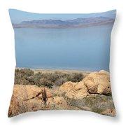 An Island View 2 Throw Pillow